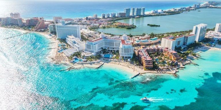 ano novo em Cancun