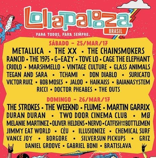 dicas Lollapalooza 2017