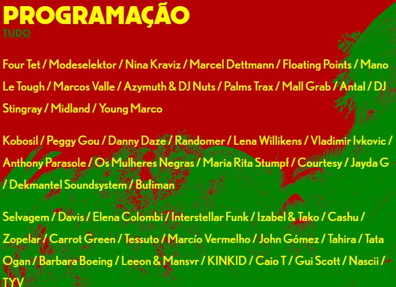 Dekmantel São Paulo