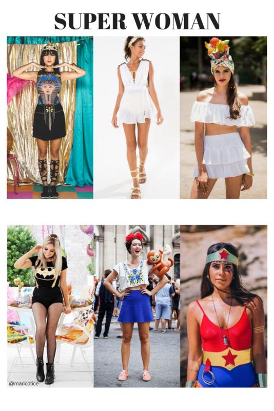 1 looks para o carnaval
