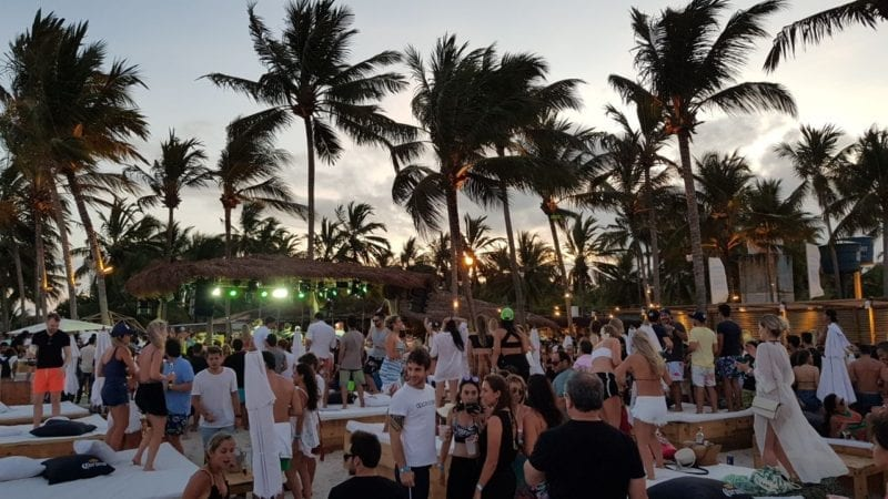 réveillon dos milagres 2018 bar de praia