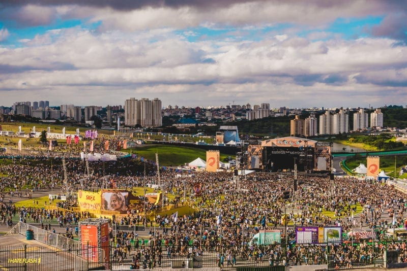 aproveitar o Lollapalooza Brasil