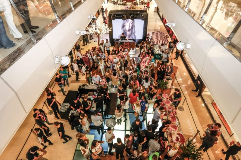 Party at the Mall