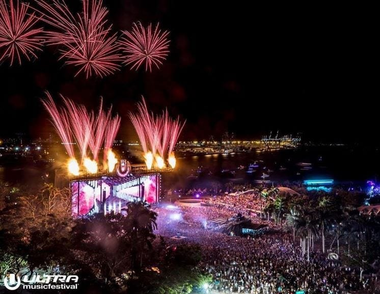 Ultra Music Festival 2018 em Miami
