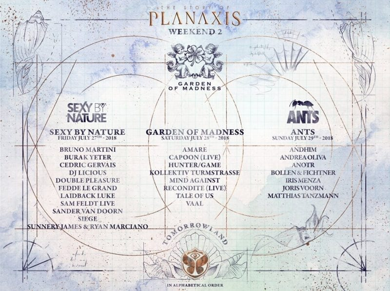 artistas Tomorrowland 2018