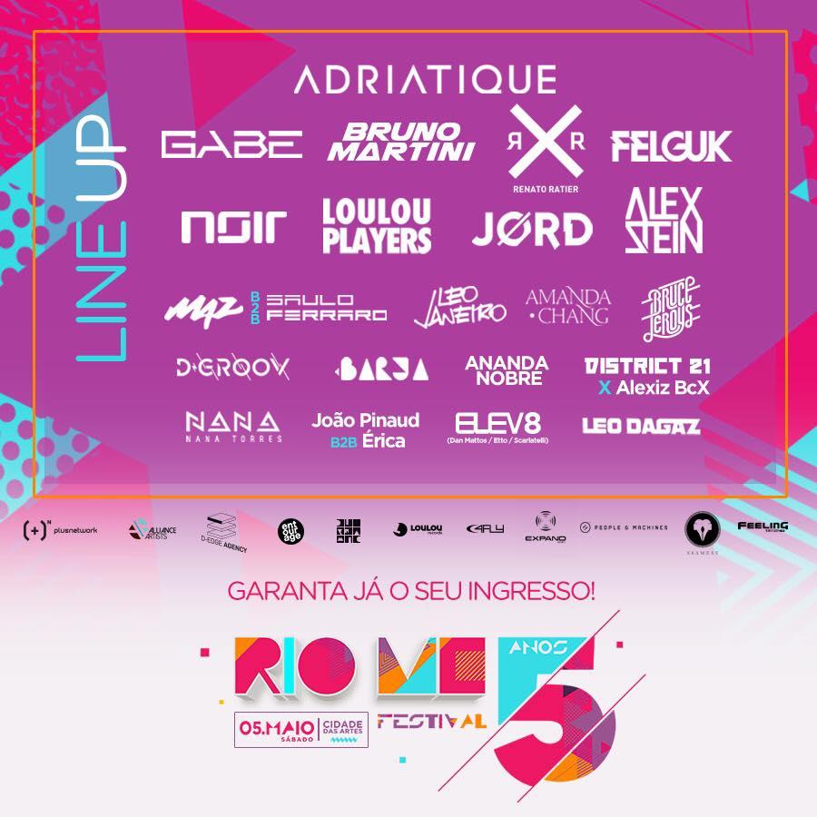 5 anos do RIO ME Festival