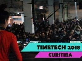 festa Timetech em Curitiba