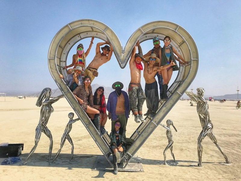 Fotos Burning Man 2018