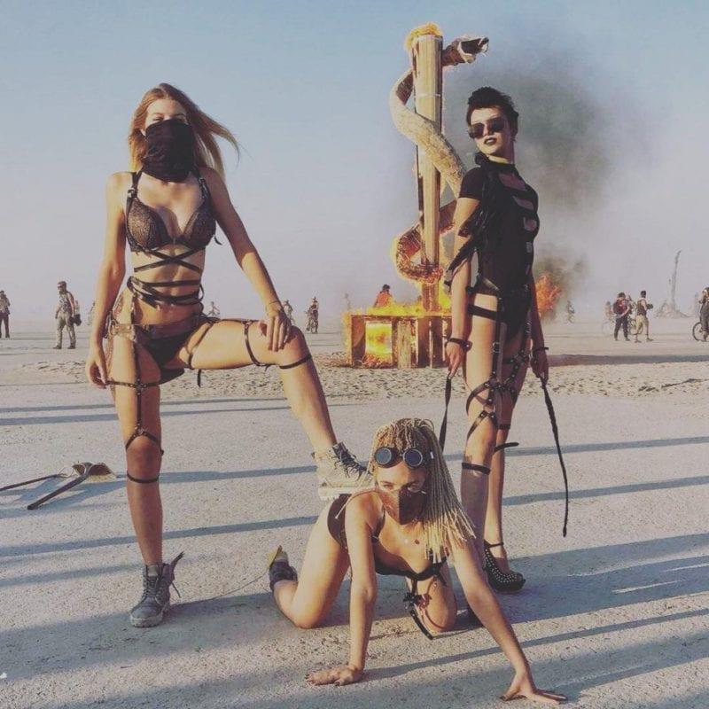 fotos do Burning Man 2018