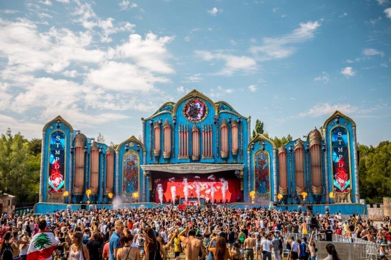 palcos do Tomorrowland