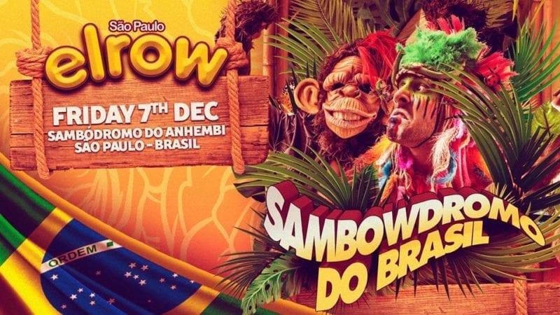 festa Elrow em São Paulo