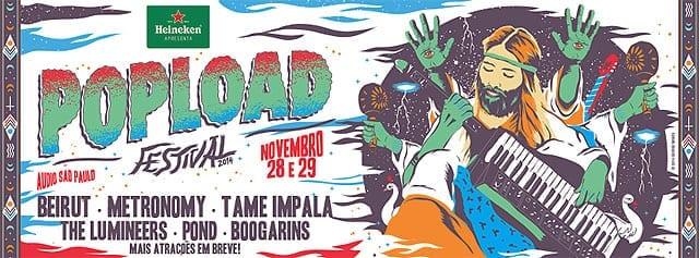 evolução do Popload Festival