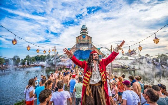 palcos do Tomorrowland 2019