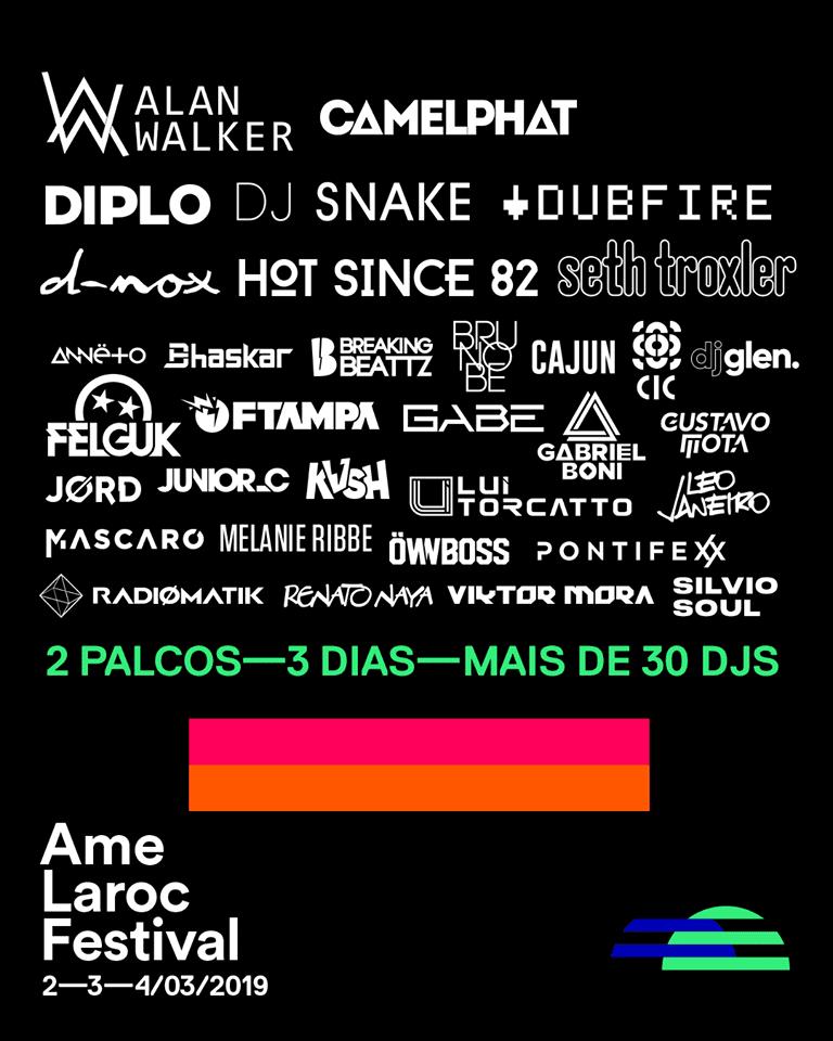 carnaval no Ame Laroc Festival