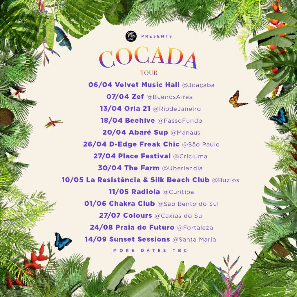 Cocada Tour 2019