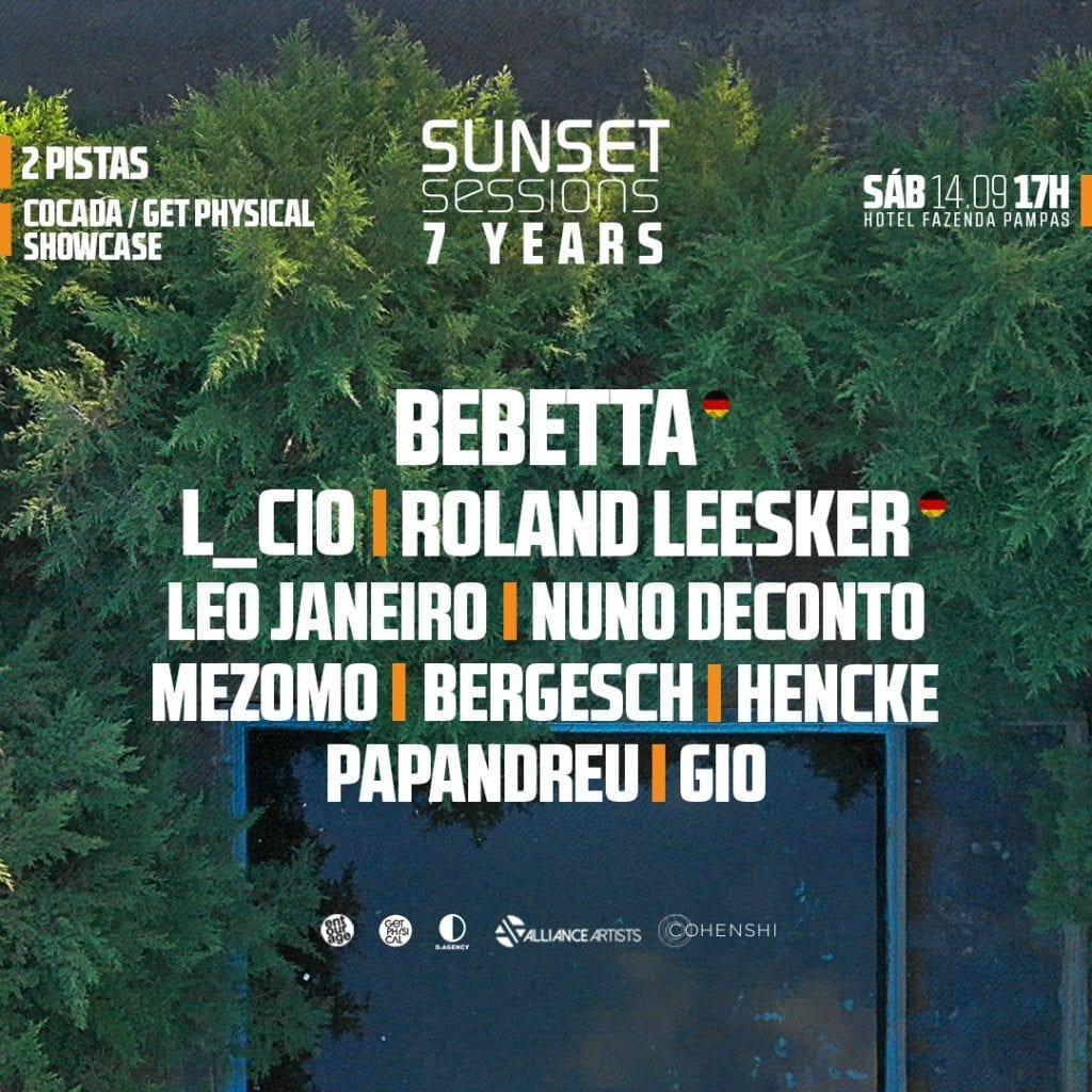 Sunset Sessions 7 anos