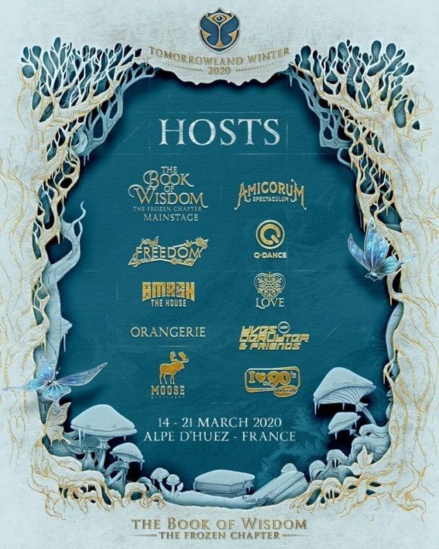 Tomorrowland Winter 2020 artistas