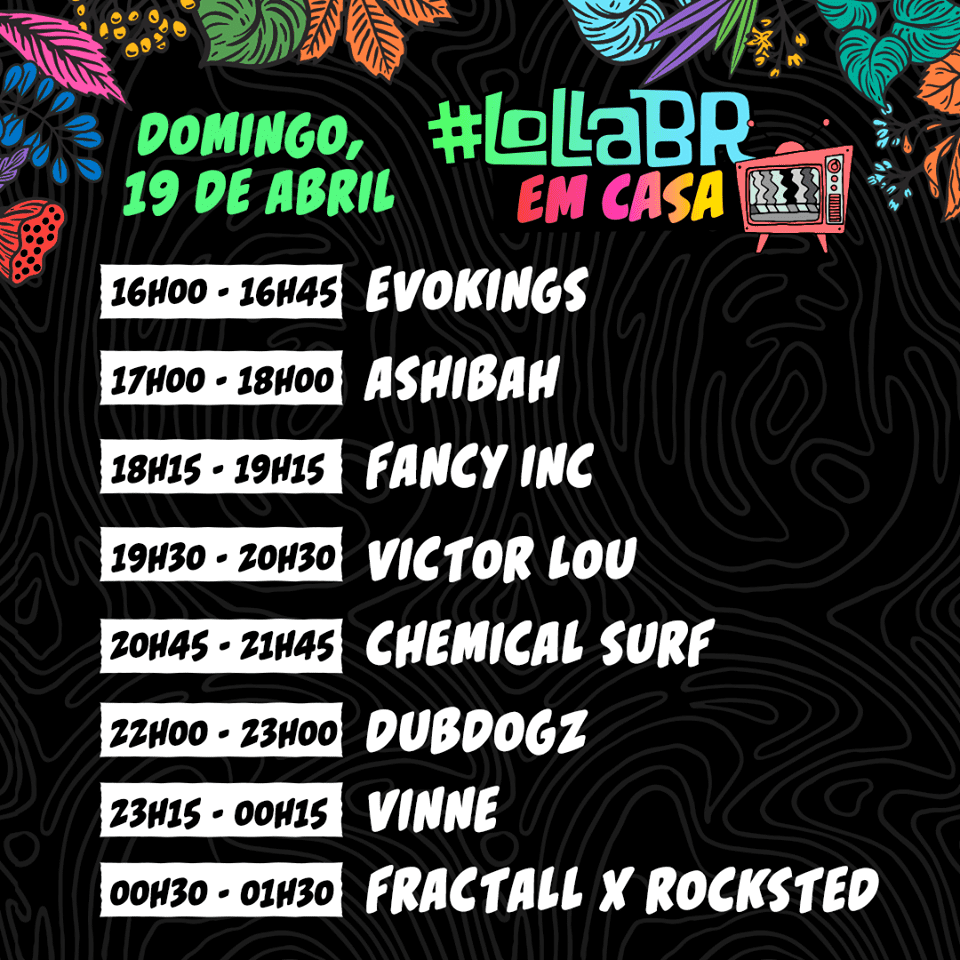#LollaBRemCasa