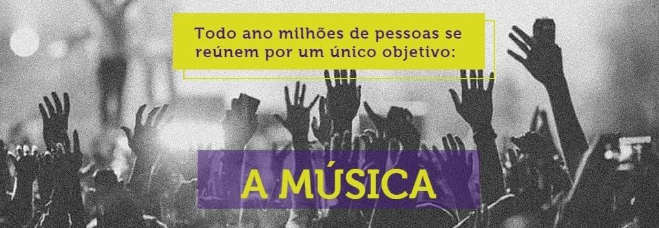 fome de música