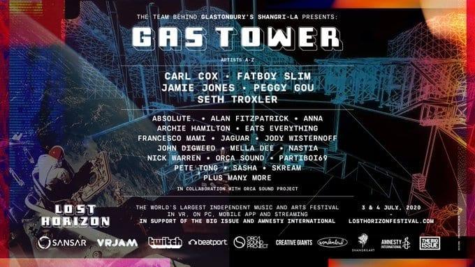 Glastonbury festival online