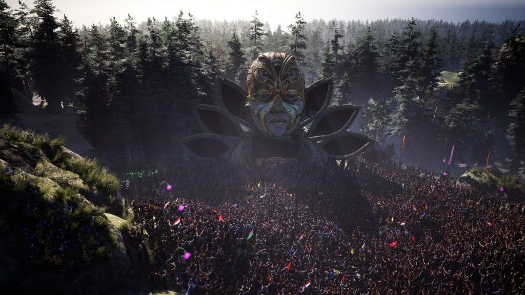 Tomorrowland festival virada