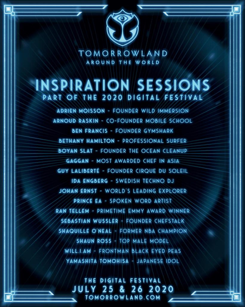 Tomorrowland sessoes inspiracionais