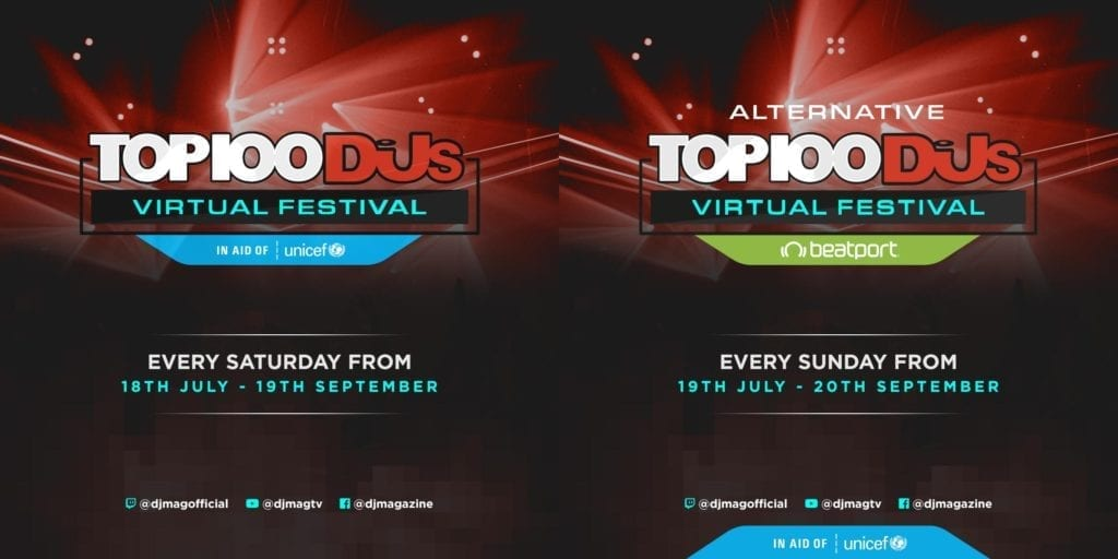 Top 100 DJs Virtual Festival
