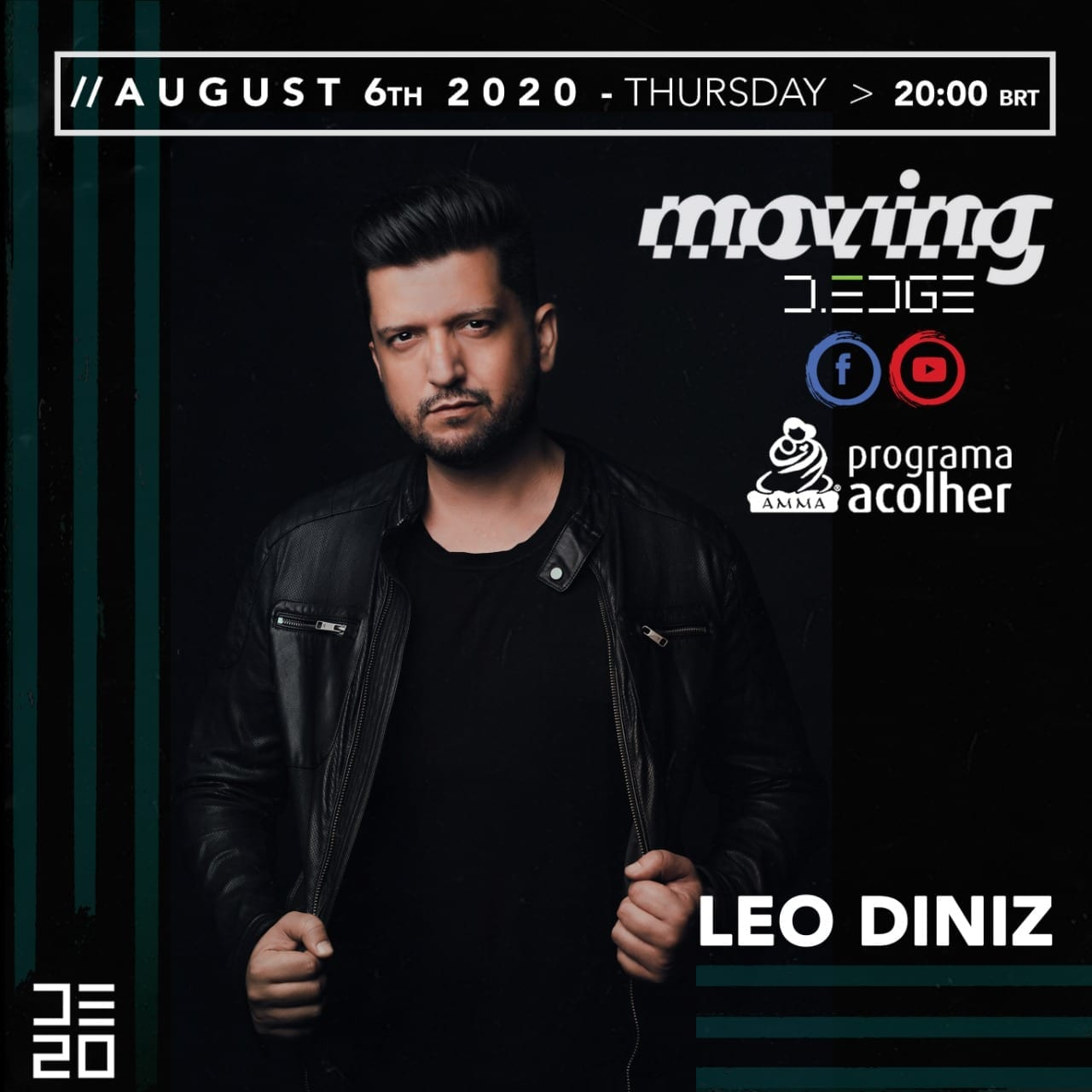 Moving live Leo Diniz