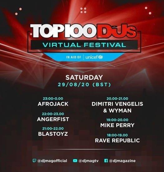 top 100 dj mag 7