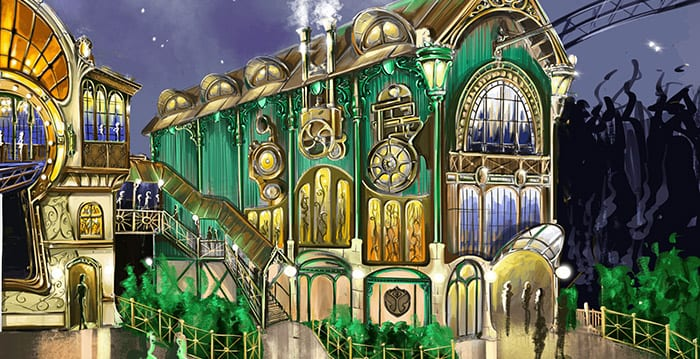 Tomorrowland montanha-russa