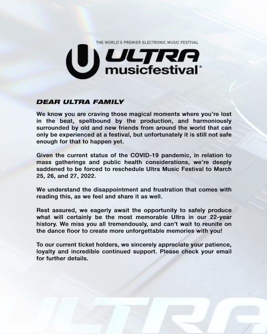 Ultra cancelada